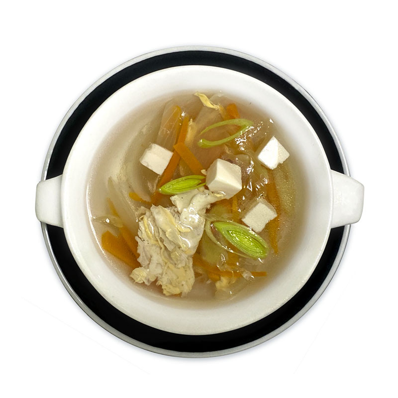Clear Chicken Vegetable Soup